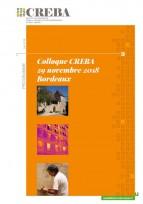Inscrivez-vous au colloque CREBA le 29 novembre à Bordeaux !