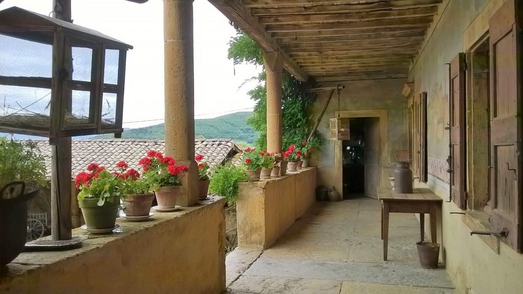 Ferme Reverdy à Saint-Julien-sur-Bibost (Rhône) : les aîtres