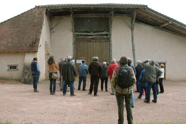 Grand couvert restauré typique du pays de Charlieu