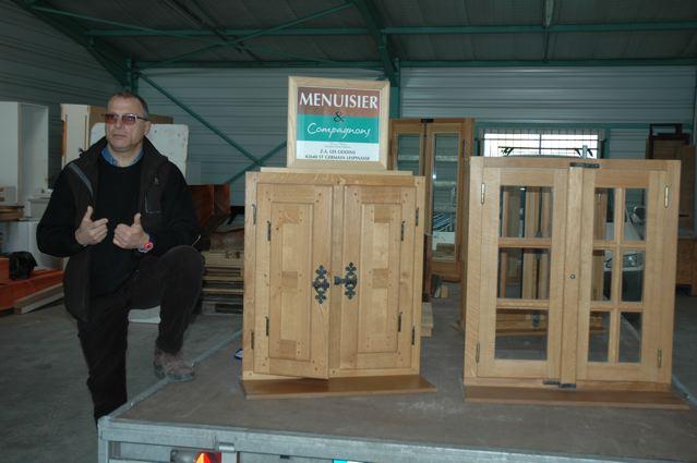 Visite de l'entreprise Menuisier et Compagnons présentée par Mr Bruno PRADIER