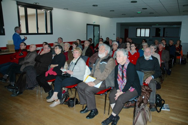Une cinquantaine de personnes ont assisté à la conférence sur le confort thermique dans le bâti ancien