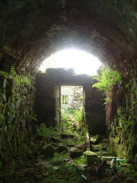 Ruines des moulins à bois du Chorsin