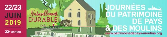 Journée du patrimoine de pays et des moulins 2019