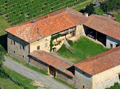 Ferme Reverdy à Saint-Julien-sur-Bibost (Rhône). Photo de Christian MENS